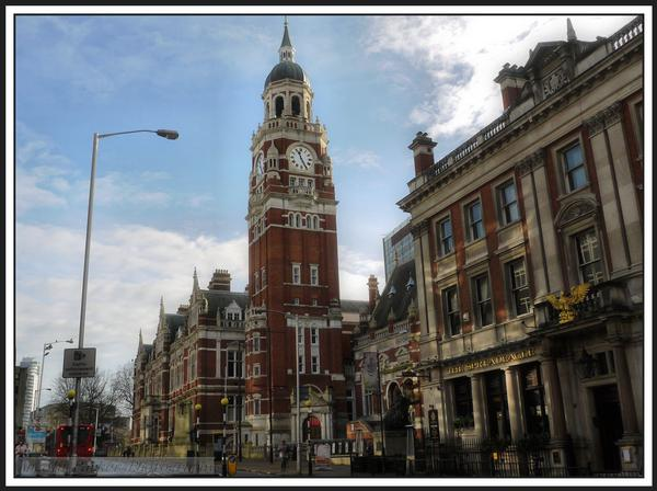 Old Town Hall in Croydon