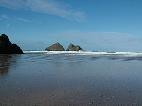 View from Holywell beach © Dave Quinnell