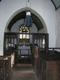 Interior St Beuno's Parish Church © Rod Morris