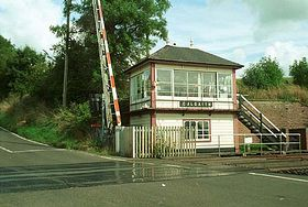 Culgaith signal box © Mark Brookes