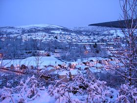 Cwmavon in the snow © Andrew Isaac