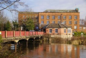 The cotton mill on the River Derwent at Darley Abbey © RodJonesPhotography.co.uk