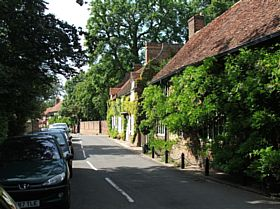 Village Road, Denham © Howard Phillips