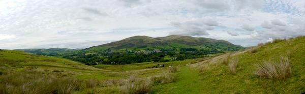 Approaching Sedbergh