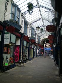 Victorian shopping arcade © Philip Cookson
