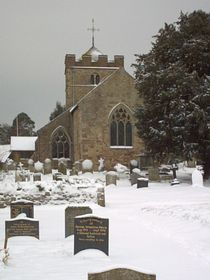 St Peter's church, Diddlebury © Claire Adams