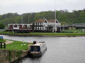 Yacht Club at the junction of the rivers Trent and Soar © RodJonesPhotography.co.uk