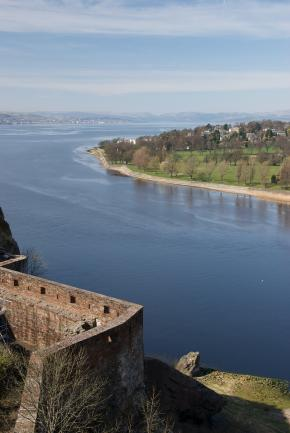 From top of Dumbarton Rock