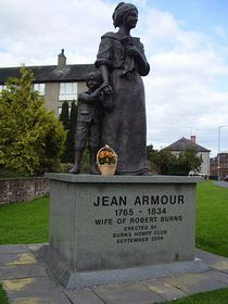 Statue of Jean Armour © Logan Laurie
