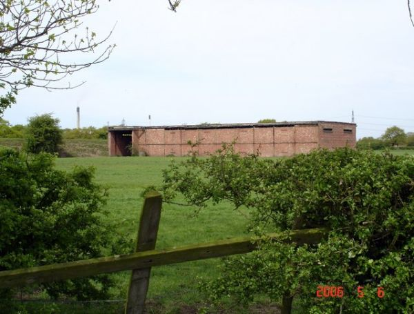 Wartime Building near Dunham on the Hill