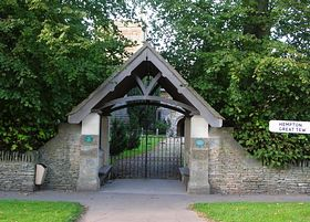 Entrance to St. Michael and All Angels Great Tew © Jon William Baxter