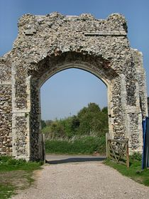 Entrance to The Priory. © Peggy Cannell