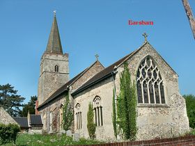Earsham Chuch © Peggy Cannell