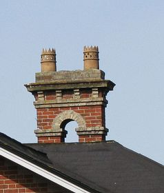 Ornate Chimney © Peggy Cannell