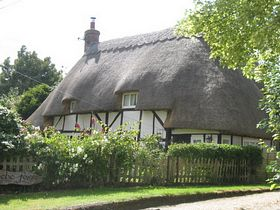 Thatched Cottage, Ecchinswell © Ali Hughes