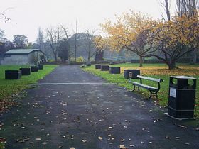 Ecclesfield Park, near Church Street entrance © Michelle Perry Brooker