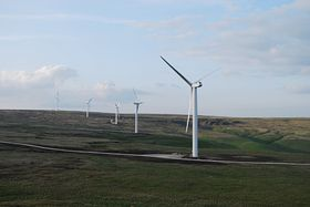 More windfarms above Edenfield © Michael Blain