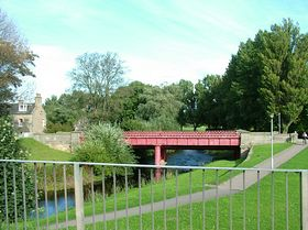 Bishopmill bridge © Wayne Haverson