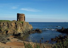 Ladys Tower, Elie © David Dunn
