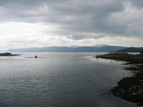 Looking towards Mull from Ellenabeich © Lois Smalley