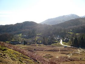 Views over Elterwater Village © The Good Life Cottage Company