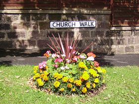 Flowers at Church Walk, Euxton © Debra Platt