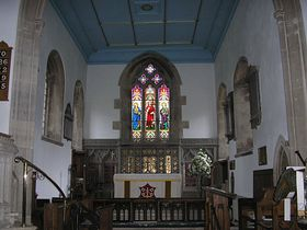 Evercreech church interior © Rod Morris