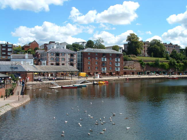 View of Exeter © Colin Jackson