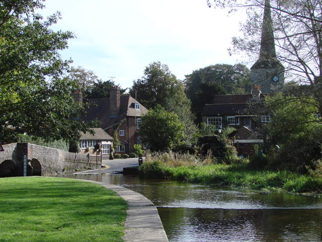 View of Eynsford © Jeffrey Darlington