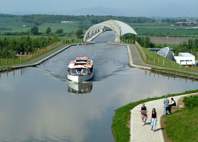 Canal trips via the Falkirk Wheel © Dennis M Bradley