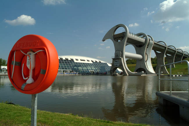 The Falkirk Wheel © Dennis M Bradley