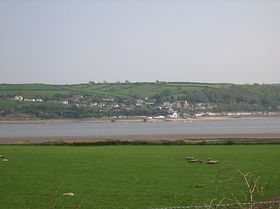 Ferryside from across the Towy © Diane Froggatt (nee Price