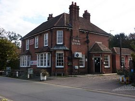 Fox and Hounds Pub. © Peggy Cannell