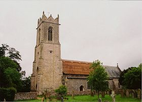 Filby Church © Peggy Cannell