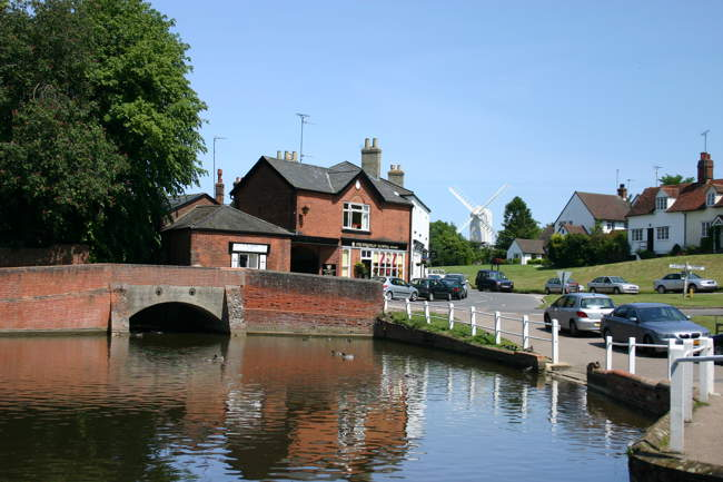 A view of Finchingfield's duckpond. © Allison Bennet