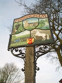 The Village sign © Joanne Horrocks