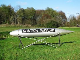 Aviation Museum Sign © Peggy Cannell