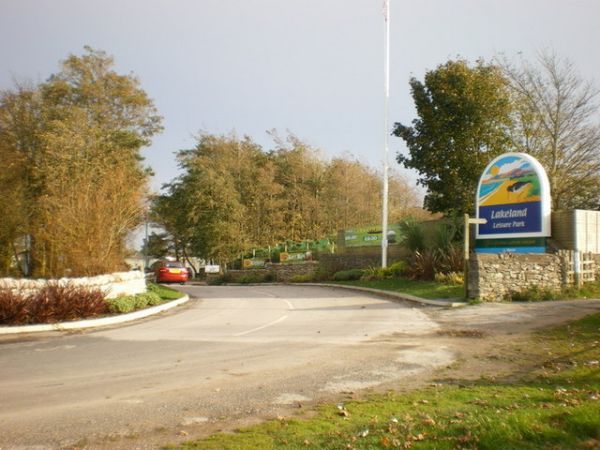 Entrance to the Lakeland Leisure Park