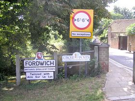 Entering Fordwich © Peter