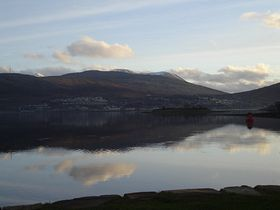 Fort William & Loch Linnhe - view from Corpach © Krysztau