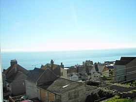 Fortuneswell with Lyme Bay beyond © Ross Harrison