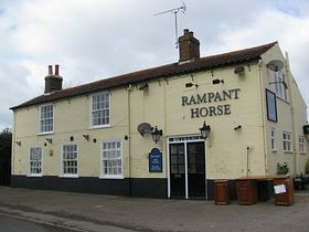 The Rampant Horse Public House © Peggy Cannell