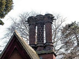 Ornate Chimneys © Peggy Cannell