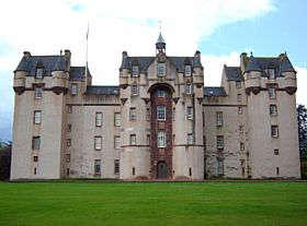 Fyvie castle front © Margareta Brogardh