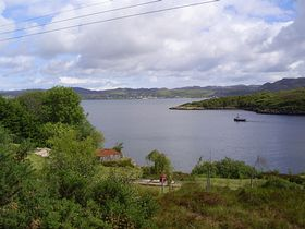 View of Gairloch from Badachro © Neil Storey