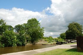 One of the many Canal Locks at Gargrave © Mr Philip Moon (HKt.B)