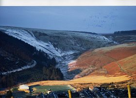 Veiw of valley near Gilfach Goch © Ivor Evans