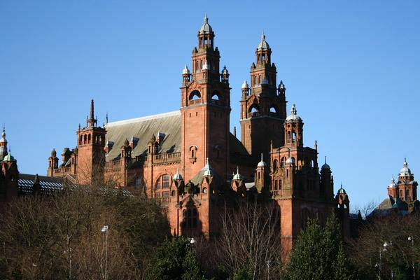 Exterior of Kelvingrove art gallery and museum, Glasgow