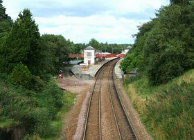 Gleneagles Station from the South  (c) Derek Ferris via Wikimedia Commons