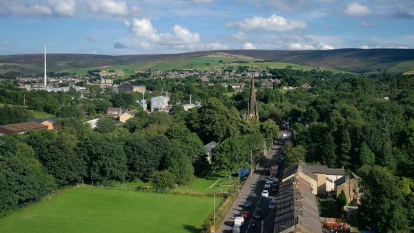 Glossop view